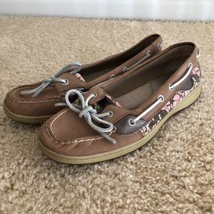 Sperry  Docksider Floral Boat Shoe